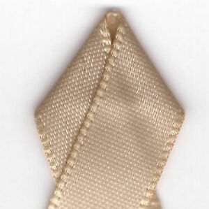 Papilion R074400060835100Y .25 in. Double-Face Satin Ribbon 100 Yards - Tan