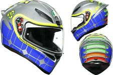 Casque Intégral AGV K1 K-1 Top - Rossi Mugello 2015 Taille M/s