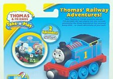 Thomas & Friends Train TAKE n PLAY Railway Adventures Die Cast Engine & DVD New