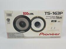 "Pioneer TS-163P Dual Cone Flush Mount Car Speakers 6-1/2"" 100W"