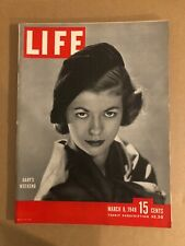 1948 March 8 LIFE Magazine Gaby's Weekend (K59)