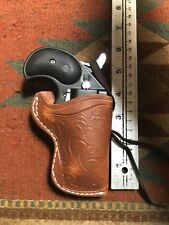 Leather Derringer Belt Holster Fits Cobra American Cimarron CFA