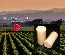 "WINE CORKS 100 SYNTHETIC NOMACORC SELECT WOOD GRAIN FINISH #9 1-3/4"" 22mm X 44mm"