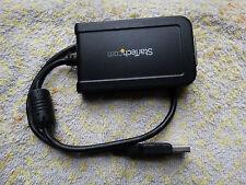 StarTech.com USB2DVIE3 - USB to DVI External Video Card Multi Monitor Adapte