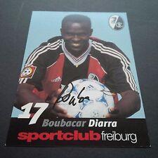 BOUBACAR DIARRA SC FREIBURG signiert 10 x 15 Autogrammkarte !