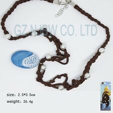 Polynesia princess Moana Cosplay Necklace Pendants props the heart of Te Fiti
