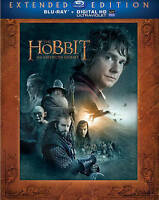 The Hobbit: An Unexpected Journey (Blu-ray Disc, 2013, 3-Disc Set, Extended...