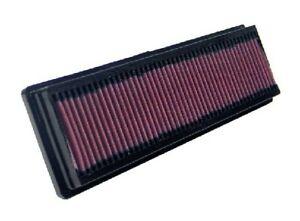 K&N Hi-Flow Performance Air Filter 33-2844 fits Citroen C2 1.6 SensoDrive VTS...
