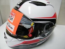 Shark Helmets Vision-R S2 Syntic White Black Red EXTRA SMALL   LAST ONE IN STOCK