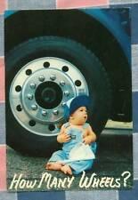 50 Postcards Little Lee Comic Trucking How Many Wheels?