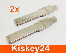 2x Car Folding Key Folding Blank Key Key Bit for HAA VW Golf 4 Inside Track