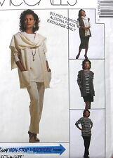EASY pattern wardrobe stretch knit skirt tunic sz 10-14 Misses