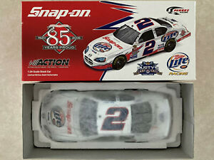 1/24 Rusty Wallace Snap On 85th Anniversary 2005 Dodge Diecast Car #2