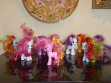 HASBRO LOT OF 11 COLORFUL 2010 MY LITTLE PONYS