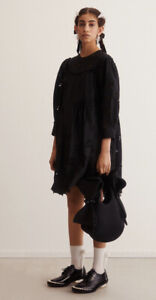 BNWT H&M SIMONE ROCHA SS2021 BRODERIE ANGLAISE DRESS BLOGGERS SOLD OUT SIZE MED