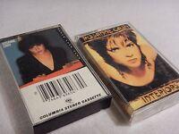 Lot of 2 Rosanne Cash Cassette Tapes - Interiors 1990 & Seven Year Ache 1981