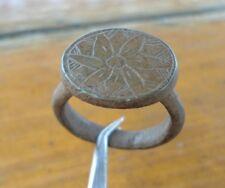 Ancient Roman Bronze Ring Original Authentic Antique Rare