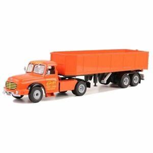 Willeme LC610 T Bonifay semi truck trailer1:43 Ixo Altaya Diecast