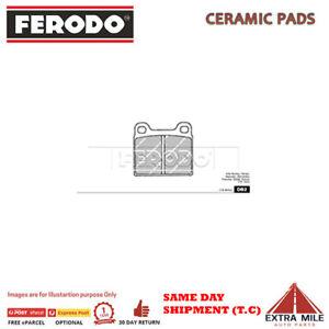 FERODO TQ BRAKE PADS FRONT For ALFA ROMEO GIULIETTA 1984-1986 2.0L 4cyl DB2FTQ