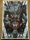 WestWorld Tv Show Print Poster Mondo Ed Harris Anthony Hopkins Christopher Cox