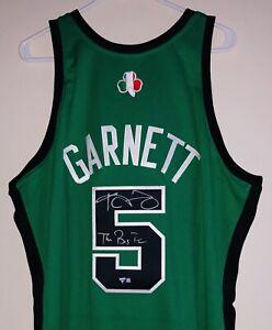 Kevin Garnett Celtics Signed Mitchell & Ness NBA Rome Autograph Jersey FANATICS