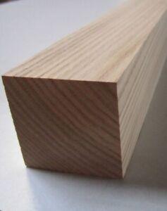 4 x Möbelfuß Tischbein Esche 55x55x 650mm-1000mm Drechselholz gehobelt Kantholz