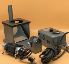 Leitz Aristophot Macro Dia Object Stage With Lamp & Power Supply - READ