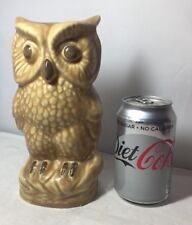Vintage Large Sylvac Wise Old Owl Figure Rare Unusual 30598 Bird Animal Figure