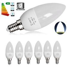 12x Bright Small Edison Screw Cap (E14) 3W LED Candle Light Bulbs Lamp Day White