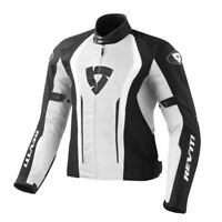 FJT188 REVIT GIACCA AIRFORCE  WHITE-BLACK TAGLIA XL REV'IT
