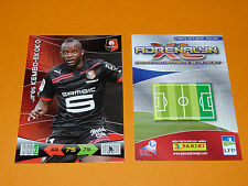 KEMBO-EKOKO ROAZHON STADE RENNES FOOTBALL FOOT ADRENALYN CARD PANINI 2010-2011