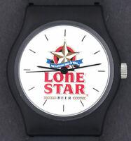 Vintage Lone Star Beer Advertising Novelty Character Watch in Original Package