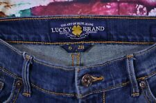 Lucky Brand Sweet' N Low Boot Cut Jeans Size 6/28 Womens Distressed Stretch