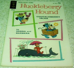 Hanna-Barbera Huckleberry Hound Chuckleberry Tales 18, NM (9.4) 1962 HIGH GRADE!