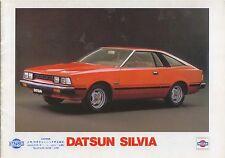 Datsun Nissan Silvia 1.8 3 door 1980 Original Dutch Market Brochure