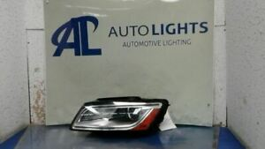Driver Headlight VIN Fp 7th And 8th Digit Xenon HID Fits 13-17 AUDI Q5 112129