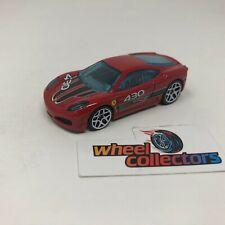 Ferrari F430 Challenger * Hot Wheels LOOSE 1:64 Diorama * F1706