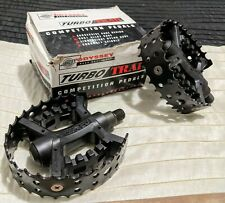Odyssey NOS Pedals Turbo Trap 1/2 Inch Old School BMX Bear Trap GT Haro Hutch CW
