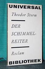 Storm, Der Schimmelreiter, reclam Nr. 171