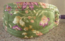 ORIENTAL OLIVE FLORAL DOG COLLAR/LEAD ITALIAN GREYHOUND CHINESE CRESTED