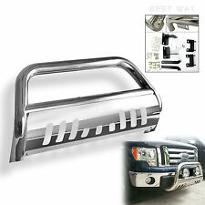 SS Bull Bar Front Bumper Grill Guard For 1992-1994 CHEVY BLAZER w/Skid Plate