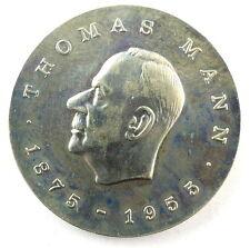 #e6045 5 Mark Gedenkmünze Thomas Mann DDR von 1975
