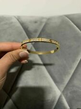 Cartier Bracelate 1.20Ct Diamond Round Cut Gift Jewelry 14K Yellow Gold Finish