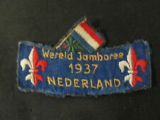 1937 World Jamboree Swiss Contingent Patch   c46