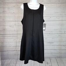Mossimo Womens Sleeveless Dress Sz XL Black Textured