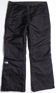 The North Face HyVent Insulated Ski Snow Pants Womens Size Large Black