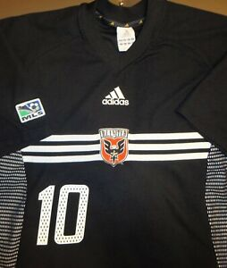 VTG ADIDAS USA DC UNITED ETCHEVERRY BOLIVIA SOCCER JERSEY FOOTBALL SHIRT MLS 02