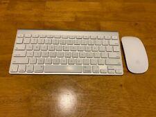 Apple Bluetooth Wireless Keyboard A1314 and Wireless Magic Mouse A1296