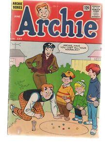 ARCHIE  COMICS  137    - SILVER  AGE   1963  -  ARCHIE  COMICS