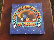 Wonderful World of Disney Lp boxset collection x 7 Vinyl Lp's RARE COLLECTABLE